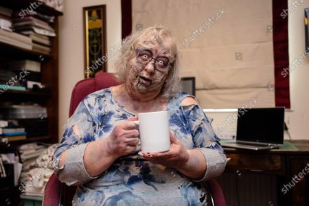 Editorial photo of The Walking Dead - Video Call Zombie Service, Handforth, UK - 30 Jun 2021