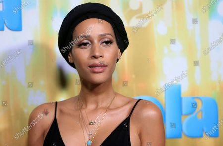 """Isis King seen at Los Angeles special screening of A24's """"ZOLA"""", in Los Angeles"""
