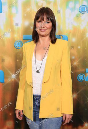 "Mary Lynn Rajskub seen at Los Angeles special screening of A24's ""ZOLA"", in Los Angeles"