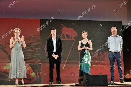 Valeria Golino, Leon de la Vallee, Maria Roveran Director Claudio Cupellini