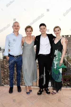 Editorial picture of 'The Land of Children' photocall, 67th Taormina Film Fest, Taormina, Italy - 29 Jun 2021