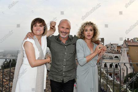 Director Michela Cescon, Ivano De Matteo, Valeria Golino
