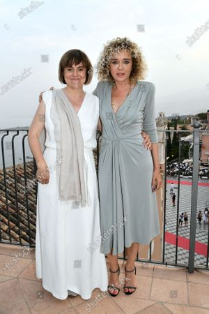 Director Michela Cescon, Valeria Golino