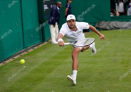 Editorial image of Wimbledon Tennis, London, United Kingdom - 30 Jun 2021