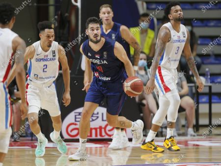 Editorial photo of FIBA Olympic Qualifying, Serbia vs Dominican Republic, Belgrade Dominican Republic - 29 Jun 2021