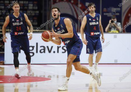 Editorial picture of FIBA Olympic Qualifying, Serbia vs Dominican Republic, Belgrade Dominican Republic - 29 Jun 2021