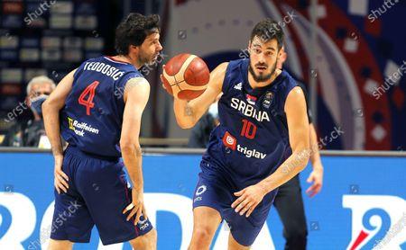 Nikola Kalinic FIBA Olympic Qualifying Tournament basketball match between Serbia and Dominican Republic in Belgrade, Serbia on June 29, 2021.