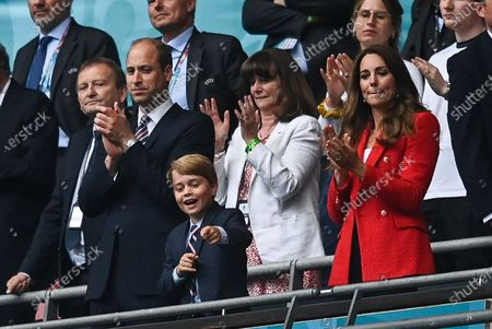Prince William, Catherine Duchess of Cambridge and Prince George