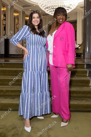 Imogen Thomas and Angie Greaves