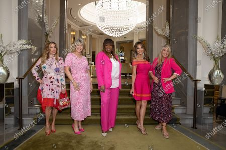 Ruth Langsford, Angie Greaves, Lizzie Cundy and Lucy Alexander
