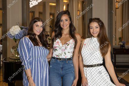 Imogen Thomas, Tyla Carr and Jess Impiazzi