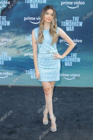 Editorial photo of 'The Tomorrow War' film premiere, Los Angeles, California, USA - 30 Jun 2021