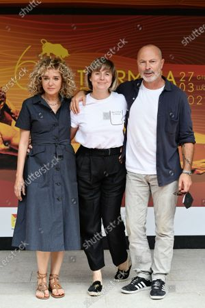 Editorial picture of 'Blue Eyes' photocall, 67th Taormina Film Fest, Taormina, Italy - 30 Jun 2021