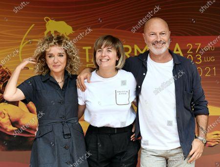 Valeria Golino, the director Michela Cescon, Ivano De Matteo
