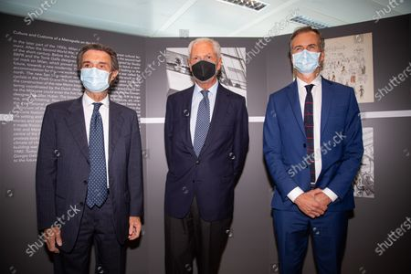 Editorial picture of 60 Years Of Pirellone Exhibition Press Conference In Milan, Italy - 29 Jun 2021