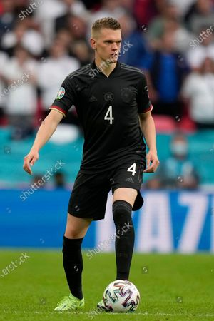 Germany's Matthias Ginter during the Euro 2020 soccer championship round of 16 match between England and Germany at Wembley stadium in London
