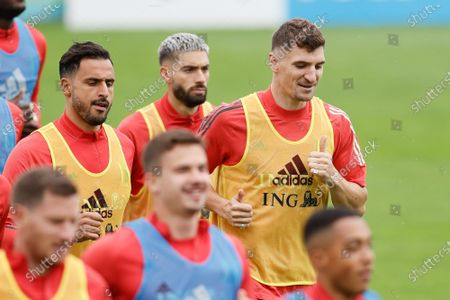 Editorial picture of Soccer Red Devils Tubize Training Wednesday, Tubize, Belgium - 30 Jun 2021