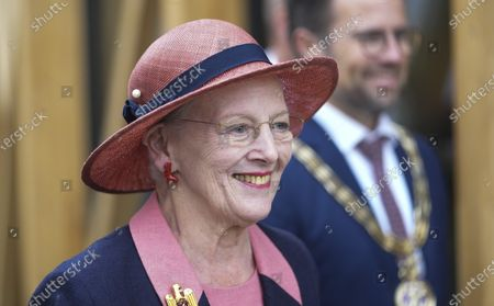 Queen Margrethe II of Denmark arrives to open the new H.C. Andersen Hus in Odense, Denmark, 30 June 2021. The new Hans Christian Andersen Museum celebrates the author of fairy tales like 'The Little Mermaid', who was born in Odense in 1805.