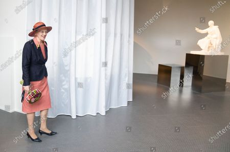 Queen Margrethe II of Denmark opens the new H.C. Andersen Hus in Odense, Denmark, 30 June 2021. The new Hans Christian Andersen Museum celebrates the author of fairy tales like 'The Little Mermaid', who was born in Odense in 1805.