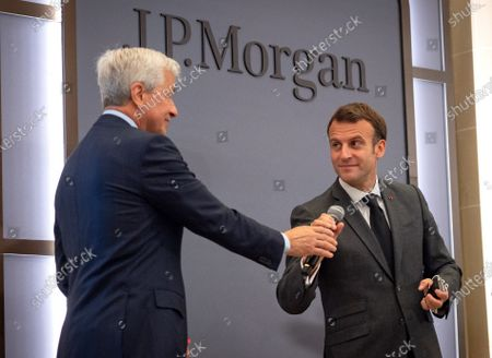 Editorial photo of New French headquarters of JP Morgan bank in Paris, France - 29 Jun 2021