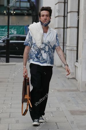 Editorial image of Exclusive - Nick Grimshaw and Jordan North out and about, London, UK - 30 Jun 2021