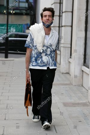 Editorial picture of Exclusive - Nick Grimshaw and Jordan North out and about, London, UK - 30 Jun 2021