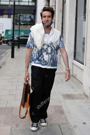 Editorial photo of Exclusive - Nick Grimshaw and Jordan North out and about, London, UK - 30 Jun 2021