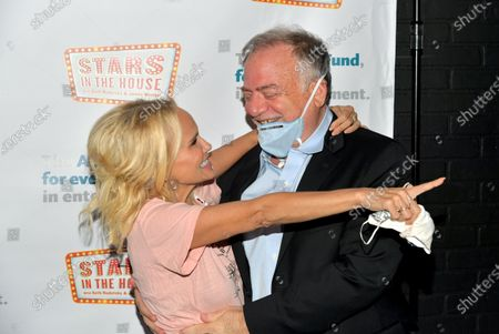 """Stock Image of Kristin Chenoweth and Marc Shaiman attend """"Stars In The House"""" celebrating $1M raised for the Actors Fund at Improv Asylum."""