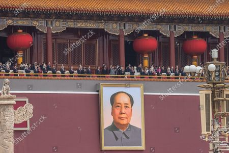 Editorial picture of China celebrates 100th founding anniversary of the Chinese Communist Party, Beijing - 01 Jul 2021