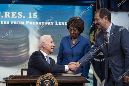 Editorial photo of President Biden Signs Congressional Review Act Bills, Washington, District of Columbia, USA - 30 Jun 2021