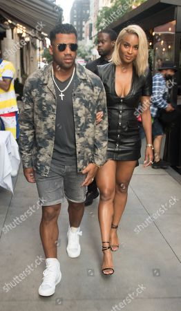 Russell Wilson and Ciara head to dinner at Philippe Chow