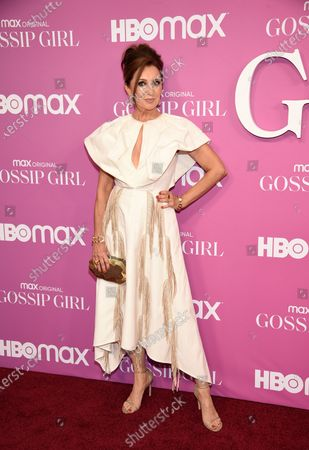 """Actress Donna Murphy attends the premiere of the new HBO Max television series """"Gossip Girl"""" at Spring Studios, in New York"""