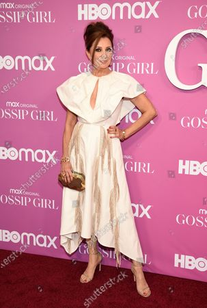 """Actor Donna Murphy attends the premiere of the new HBO Max television series """"Gossip Girl"""" at Spring Studios, in New York"""