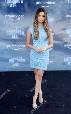 "Editorial image of LA Premiere of ""The Tomorrow War"", Los Angeles, United States - 30 Jun 2021"