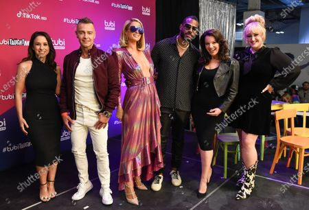 Lacey Chabert, Joey Lawrence, Paris Hilton, Marlon Wayans, Fran Drescher and Brittany Broski