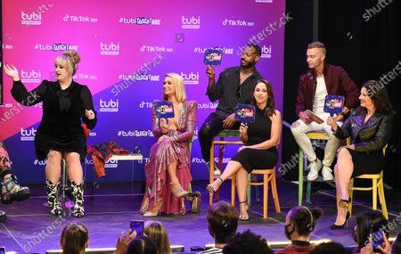 Stock Photo of Brittany Broski, Paris Hilton, Marlon Wayans, Lacey Chabert, Joey Lawrence, Fran Drescher