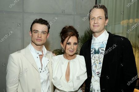 """Editorial image of Pre Cocktail Party for HBOmax """"Gossip Girl"""" Red Carpet Premiere, Spring Studios, 6 St. Johns Lane, New York, USA - 30 Jun 2021"""