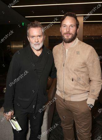 Director Chris McKay and Executive Producer and Actor Chris Pratt