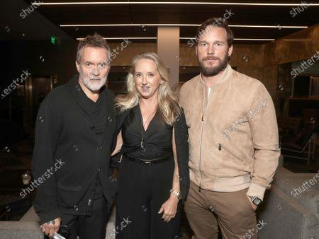 Director Chris McKay, Head of Amazon Studios Jennifer Salke and Executive Producer and Actor Chris Pratt