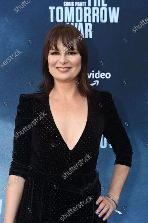 Editorial image of Amazon Studios 'The Tomorrow War' film premiere, Los Angeles, California, USA - 30 Jun 2021