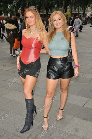 Stock Picture of Maisie Smith and Scarlett Smith