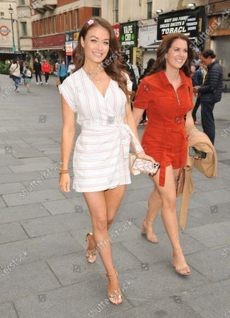Jess Impiazzi and guest