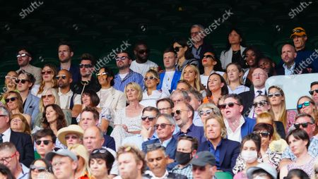 Editorial picture of Wimbledon Tennis Championships, Day 4, The All England Lawn Tennis and Croquet Club, London, UK - 01 Jul 2021