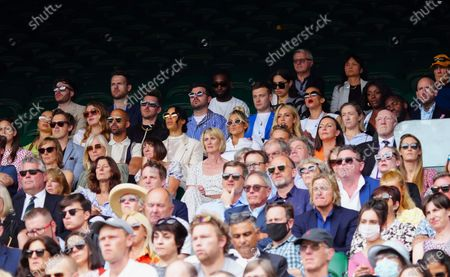 Editorial photo of Wimbledon Tennis Championships, Day 4, The All England Lawn Tennis and Croquet Club, London, UK - 01 Jul 2021
