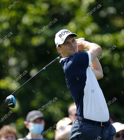 Martin Kaymer tees off on the 5th hole