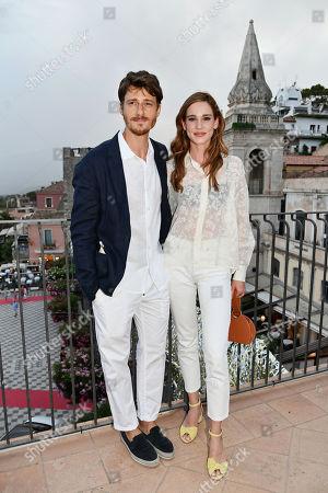 Matilda Lutz with husband Antonio Folletto