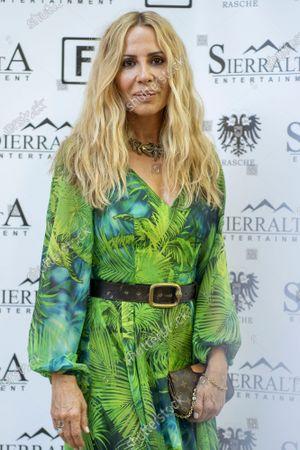 Marta Sanchez attends the 'lgunos Le Llaman Magia presentation at Fortuny restaurant.