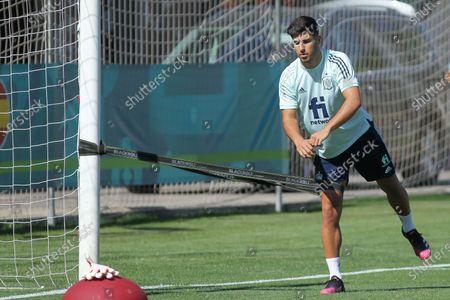 Marco Asensio of Sapin during the training of Spanish Olympic Soccer Team at Ciudad del Futbol Las Rozas on Jun 20, 2021 in Las Rozas, Madrid, Spain.