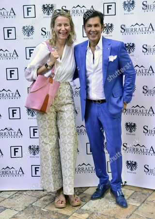 Maria Leon and Miguel Sierralta