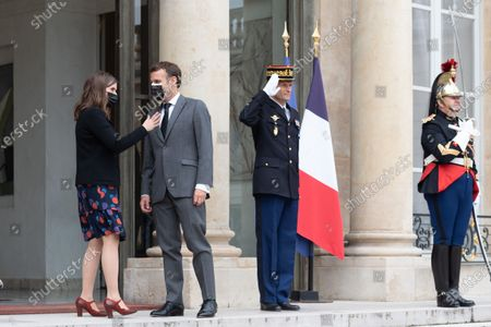 As a continuation of the Generation Equality Forum, the President of the Republic, Mr Emmanuel Macron welcomed Ms. Katrin Jakobsdottir, Prime Minister of the Republic of Iceland.